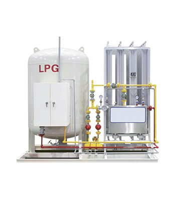 AIR HEATING VAPORIZER FOR LPG