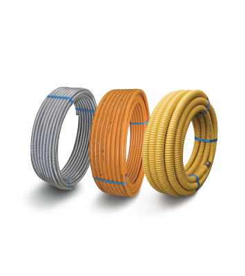 METAL FLEXIBLE HOSE FOR GAS SYSTEM