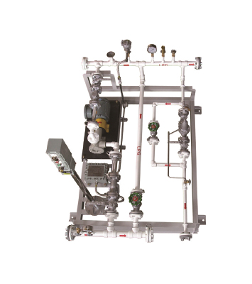 LPG FEED PUMP SKID, AUTO ACTUATION SYSTEM